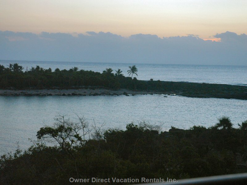 Evening View of the Lagoon and Ocean