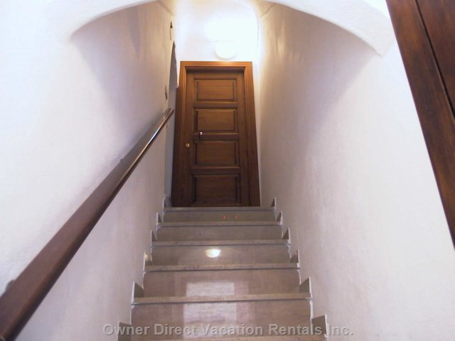 Stairways to the Apartment