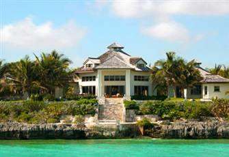 Luxury Living by Design- a Secluded Luxury Ocean-Front Villa in the Bahamas