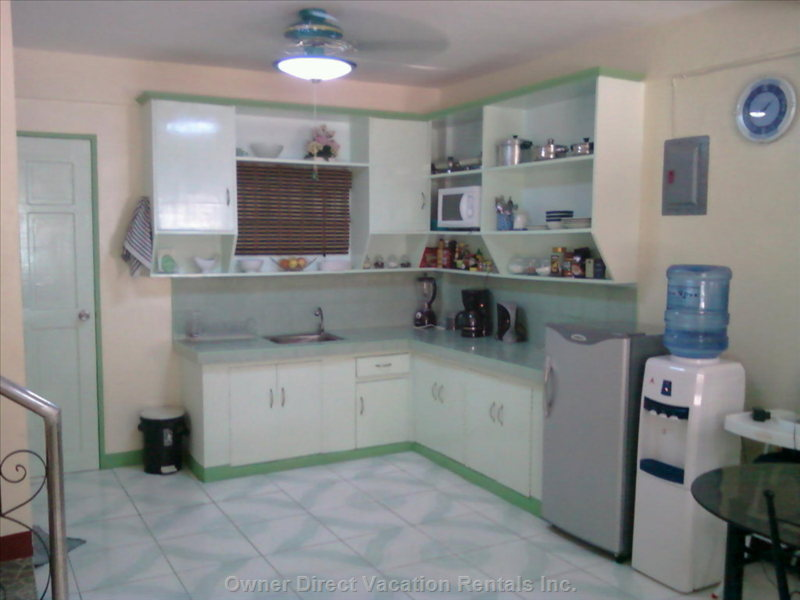 Kitchen - it'S Even Got a Ceiling Fan!