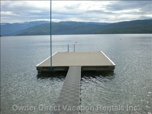 Dock - Dock is Shared with Neighbors behind the Property