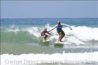 Surfing Scholl in Anglet