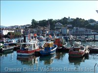 Saint Jean DE Luz Harbour : a Place to Visit