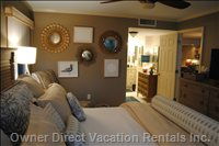 Enjoy Complete Tranquility in the Beachfront Master Suite...