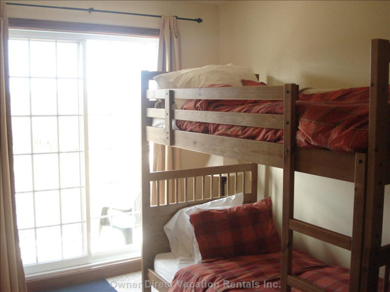 Bunk Bed in the Front Bedroom