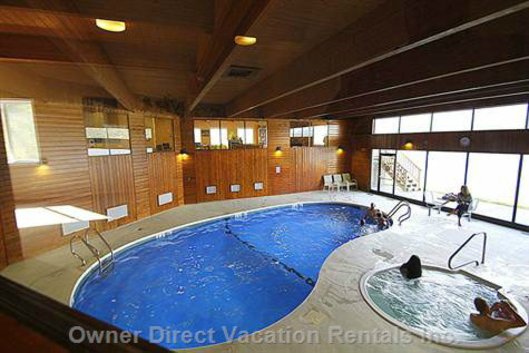 Recreation Centre with Indoor Pool, Hot Tub, Games Room and Squash Court