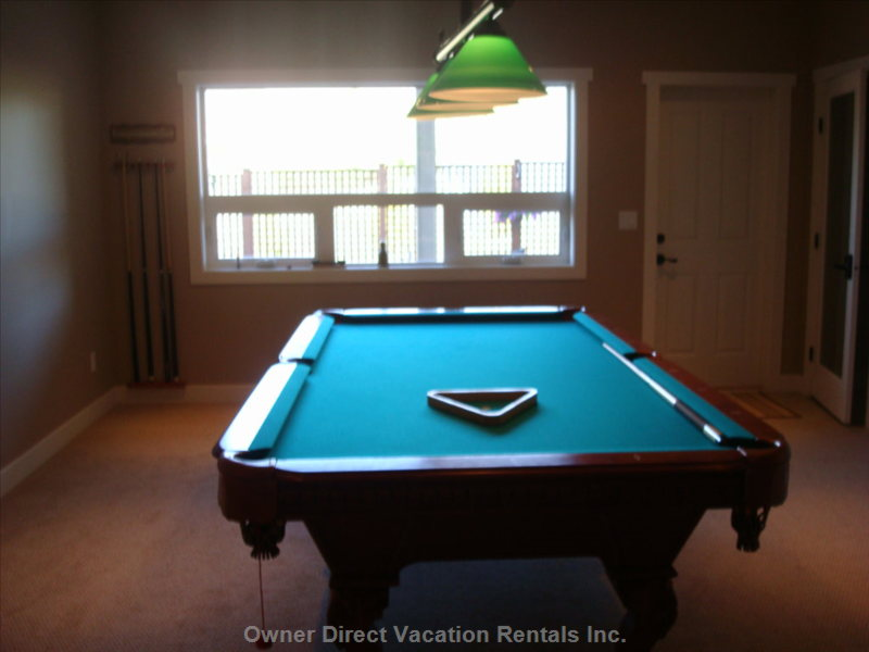 Pool Table (for Adult Use Only)