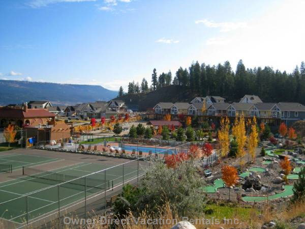 Tennis Courts & Mini Golf