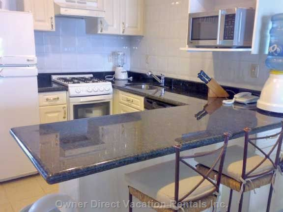 Updated Granite Kitchen