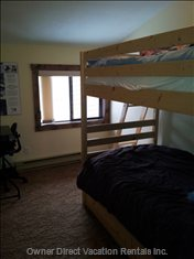 Bedroom 2, Double Bunks with a Trundle underneath