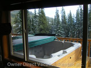 Private Hot Tub Fits 7 People