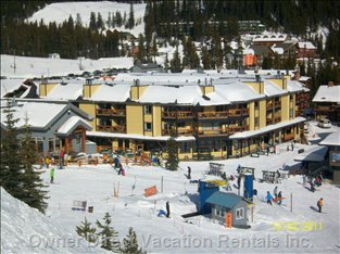 Beaconsfield Complex as Seen from the Slopes.