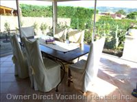 Veranda Or Winter Garden - a Great Place to Stay in all Seasons. all Doors Can be Opened and Offer a Great Breeze in Summer. in other Seasons, the Sun Will Heat this Lovely Place during the Day and you Have a Splendid View on the Surrounding Scenery.