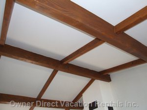 Ceiling with Wood