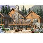 Rustic Ellegance in a  Mountain Home