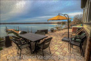 800 Sq Ft Patio at Waters Edge