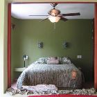 The Casita Master Bedroom - Looking through the Door from the Lounge Area Toward the Casita Master Bedroom