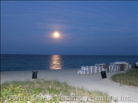 Moonrise on the Private Beach
