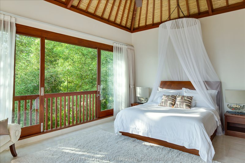 Feel the Jungle Atmosphere When you Stay on our Third Bedroom on Second Floor
