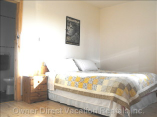 Double King Bedroom - the Second Bedroom has a Custom-made King Size Double Bed which Can be Divided to Make Twin Beds.