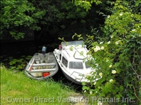Moored Boats  - a Scene near the Cottage on the Lusmagh Walk