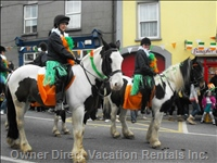 St Patricks Day in Banagher