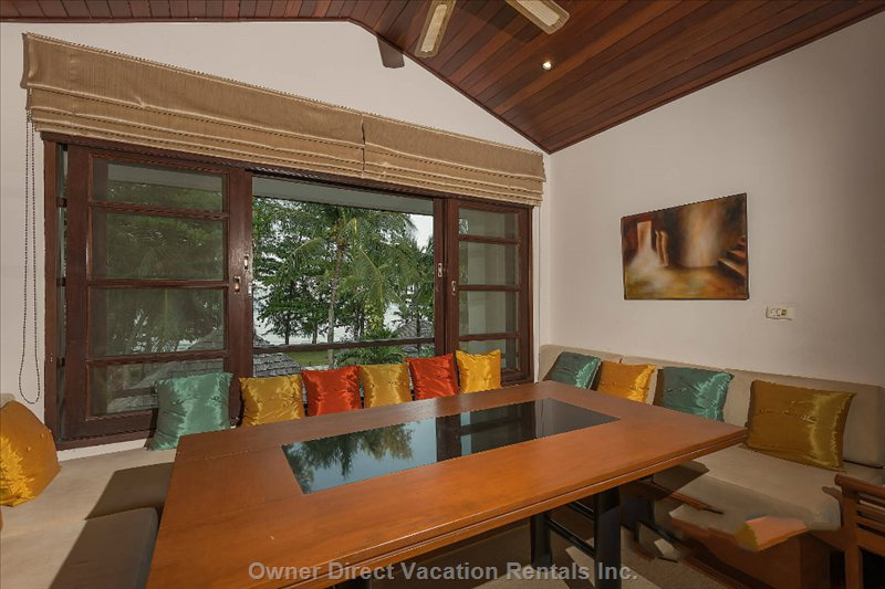 Dining Table - Overlooks Pool