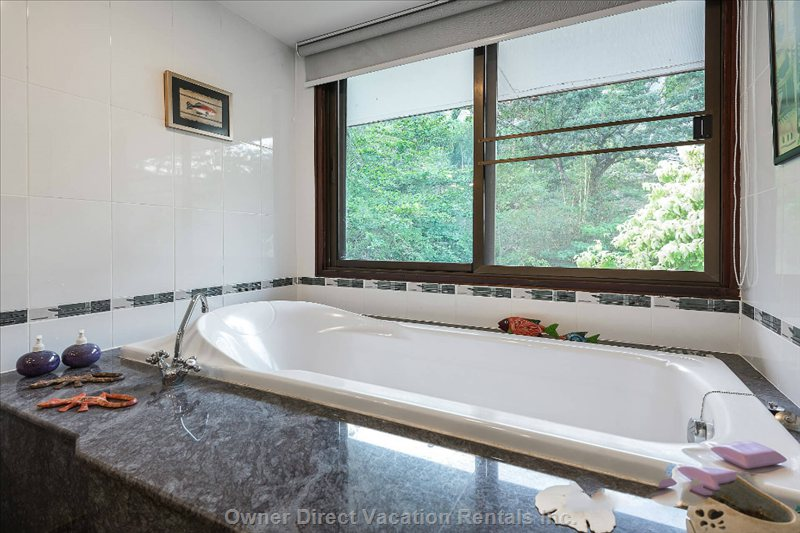 Master Bath with Views