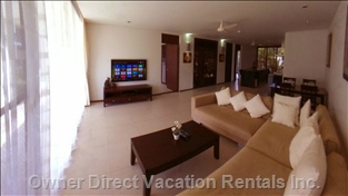 "Living Room (Similar to, May Not be this Exact Unit) - 55"" 3d Led TV, Internet TV, Full Hd Media Player."