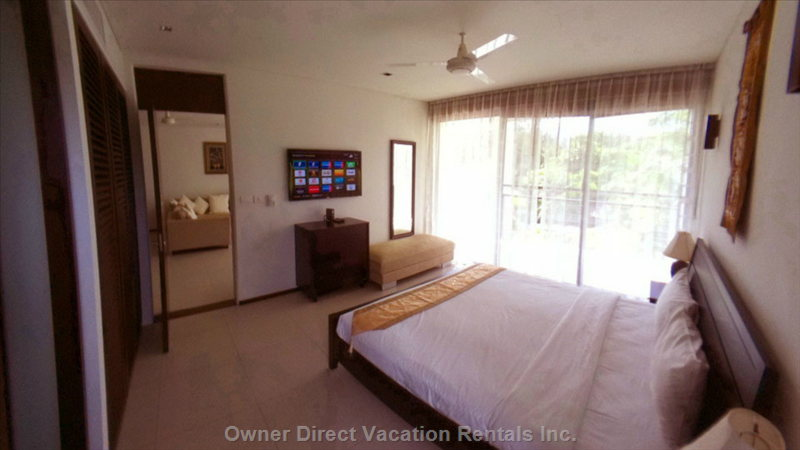 "Master Bedroom (Similar to, May Not be this Exact Unit) - 46"" Led TV, Internet TV, Full Hd Media Player."