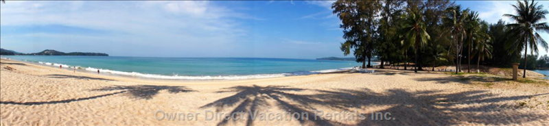 Bangtao Beach 180m in Front of Casuarina Shores