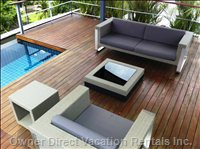 Rooftop Lounge - Sit Back and Relax in the Comfy Sofa on your Private Rooftop