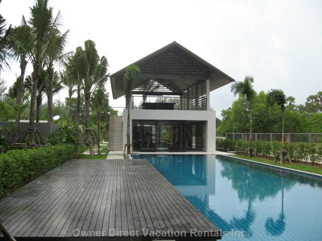 Lap Pool and Gym