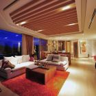 Penthouse at Night Lights