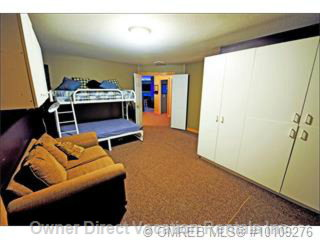 Den with Bunk Bed, Couch and Storage Area