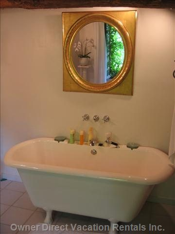 Oversize Deluxe Soaking Tub in Main Bath