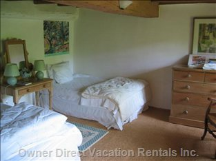 One of the Charming Upperfloor Double Bed Bedrooms
