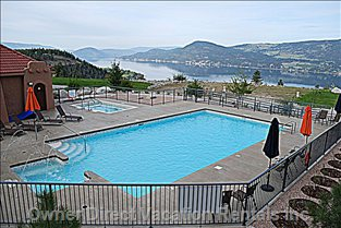 Upper Level Area - Outdoor Heated Pool, Hot Tub & Change Rooms