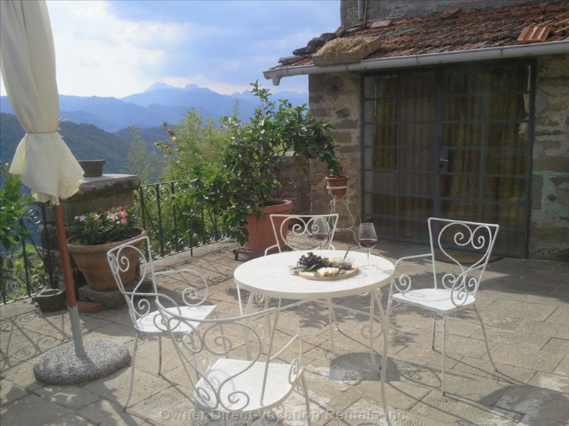 Apartment in Charming Village near Bagni Di Lucca, Tuscany #206155