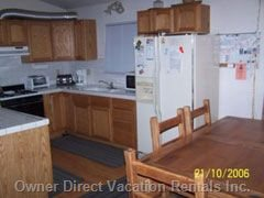Upstairs Kitchen/Dr.  Refrig W/Ice Maker