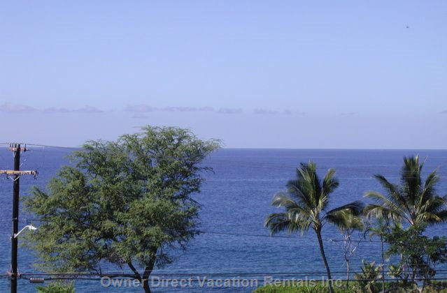 Watch the Whales during Whale Season  from your Lanai