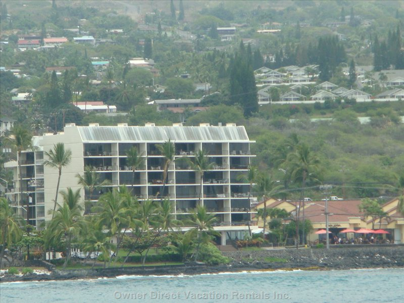 Kona Alii Building, in the Heart of Kona Village.