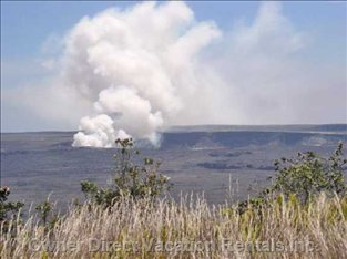 Visit Kilauea Crater in Volcano National Park