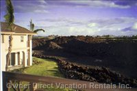 Mbr Lanai has Ocean View & Unobstructed Views of Waimea Vly.
