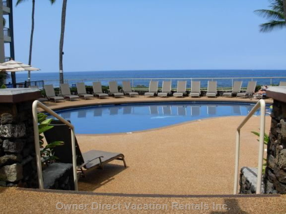 Pool outside Lanai