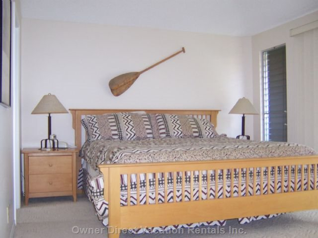 Cal King Master Bedroom