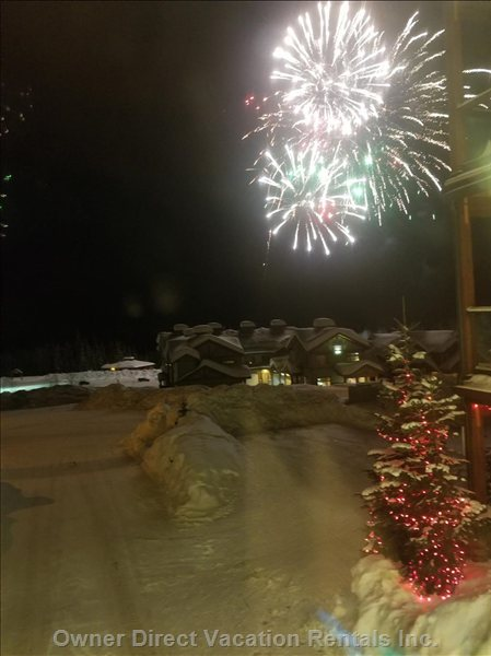 Fireworks from the Front Window