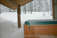 Hot Tub with View of Ski in/out