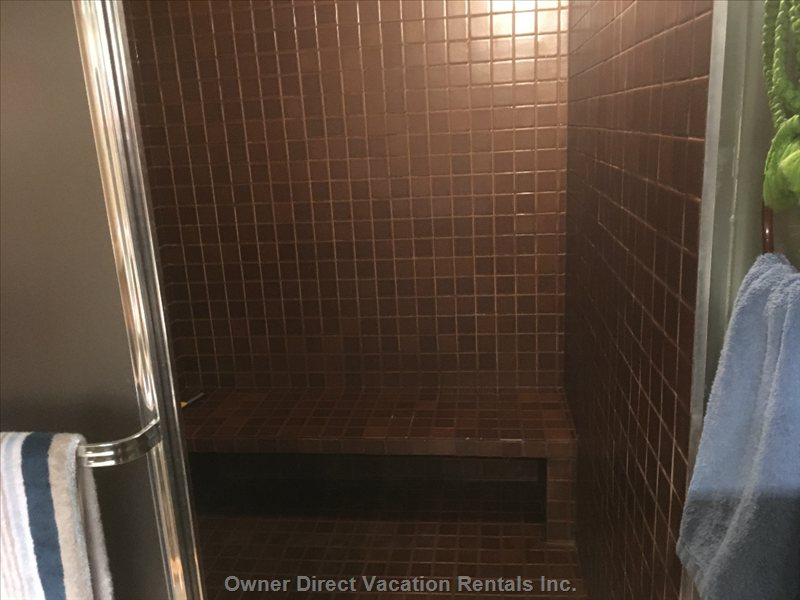 Steam Shower in Bathroom