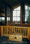 Large Windows with Views of the Monashee Mountains